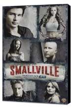 Smallville (TV) - 11 x 17 TV Poster - Style J - Museum Wrapped Canvas