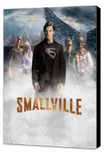 Smallville (TV) - 11 x 17 TV Poster - Style N - Museum Wrapped Canvas