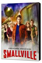 Smallville (TV) - 27 x 40 TV Poster - Style D - Museum Wrapped Canvas