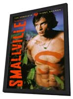 Smallville (TV) - 27 x 40 TV Poster - Style F - in Deluxe Wood Frame