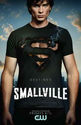 Smallville (TV) - 11 x 17 TV Poster - Style M