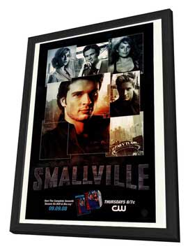 Smallville (TV) - 27 x 40 TV Poster - Style A - in Deluxe Wood Frame