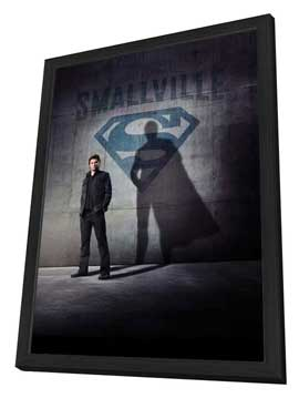 Smallville (TV) - 27 x 40 TV Poster - Style D - in Deluxe Wood Frame