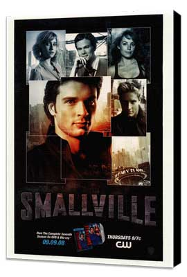 Smallville (TV) - 11 x 17 TV Poster - Style A - Museum Wrapped Canvas