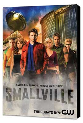 Smallville (TV) - 11 x 17 TV Poster - Style K - Museum Wrapped Canvas