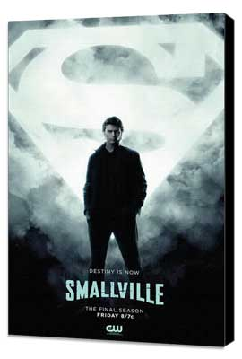 Smallville (TV) - 11 x 17 TV Poster - Style R - Museum Wrapped Canvas