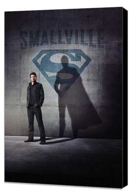 Smallville (TV) - 11 x 17 TV Poster - Style S - Museum Wrapped Canvas