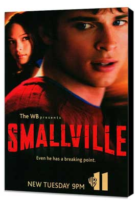 Smallville (TV) - 27 x 40 TV Poster - Style B - Museum Wrapped Canvas