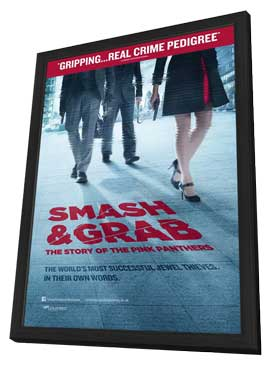 Smash and Grab: The Story of the Pink Panthers - 11 x 17 Movie Poster - Style A - in Deluxe Wood Frame