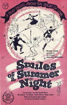Smiles of a Summer Night - 11 x 17 Movie Poster - Style A