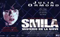 Smilla's Sense of Snow - 11 x 17 Movie Poster - Spanish Style B