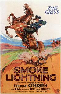 Smoke Lightning - 43 x 62 Movie Poster - Bus Shelter Style A