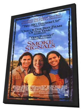 Smoke Signals - 27 x 40 Movie Poster - Style A - in Deluxe Wood Frame