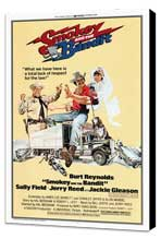 Smokey and the Bandit - 27 x 40 Movie Poster - Style A - Museum Wrapped Canvas