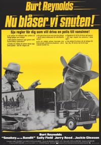 Smokey and the Bandit - 11 x 17 Movie Poster - Swedish Style A