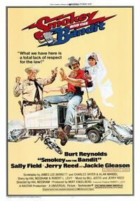 Smokey and the Bandit - 43 x 62 Movie Poster - Bus Shelter Style A