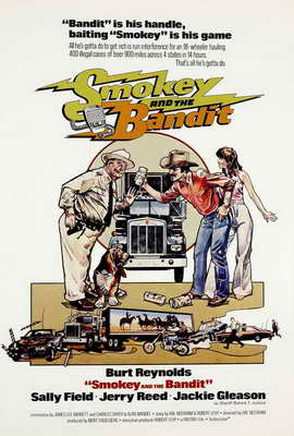 Smokey and the Bandit - 27 x 40 Movie Poster - Style C