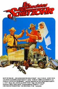 Smokey and the Bandit - 11 x 17 Movie Poster - German Style A