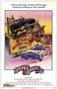 Smokey and the Bandit, Part 3 - 11 x 17 Movie Poster - Style A