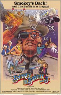 Smokey and the Bandit, Part 3 - 11 x 17 Movie Poster - Style B