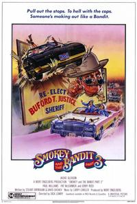 Smokey and the Bandit, Part 3 - 27 x 40 Movie Poster - Style A