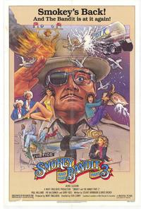 Smokey and the Bandit, Part 3 - 27 x 40 Movie Poster - Style B