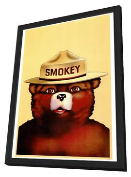 Smokey the Bear - 27 x 40 Movie Poster - Style A - in Deluxe Wood Frame