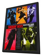 Smokin' Aces - 27 x 40 Movie Poster - Style A - in Deluxe Wood Frame
