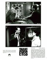 Snake Eyes - 8 x 10 B&W Photo #4