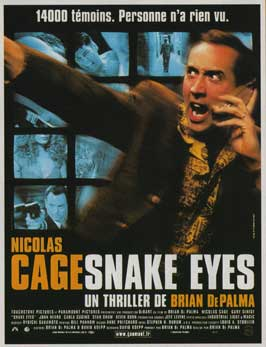 Snake Eyes - 11 x 17 Movie Poster - French Style A