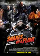 Snakes on a Plane - 20 x 60 - Door Movie Poster - German Style C
