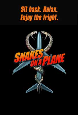 Snakes on a Plane - 27 x 40 Movie Poster - UK Style A