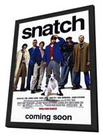 Snatch - 11 x 17 Movie Poster - Style A - in Deluxe Wood Frame
