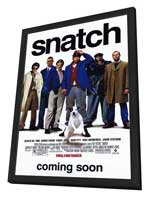 Snatch - 27 x 40 Movie Poster - Style A - in Deluxe Wood Frame