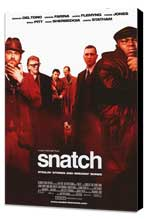 Snatch - 11 x 17 Movie Poster - Style B - Museum Wrapped Canvas