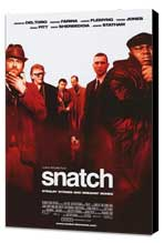 Snatch - 27 x 40 Movie Poster - Style B - Museum Wrapped Canvas