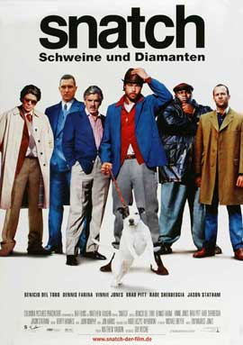 Snatch - 27 x 40 Movie Poster - German Style A