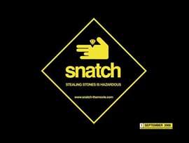 Snatch - 11 x 17 Movie Poster - Style E