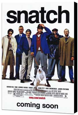 Snatch - 11 x 17 Movie Poster - Style A - Museum Wrapped Canvas