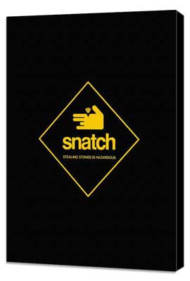 Snatch - 11 x 17 Movie Poster - Style C - Museum Wrapped Canvas