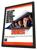 Sneakers - 27 x 40 Movie Poster - Style B - in Deluxe Wood Frame