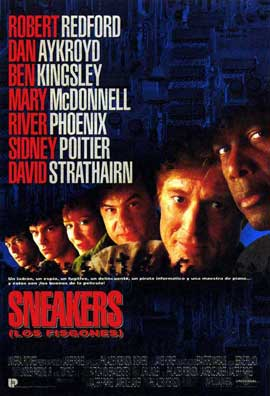 Sneakers - 27 x 40 Movie Poster - Spanish Style A