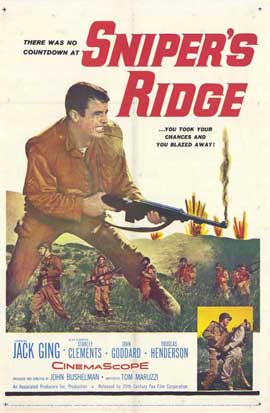 Snipers Ridge - 11 x 17 Movie Poster - Style A