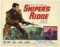 Snipers Ridge - 22 x 28 Movie Poster - Half Sheet Style A