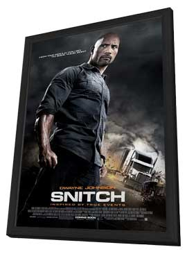 Snitch - 11 x 17 Movie Poster - Style A - in Deluxe Wood Frame