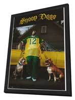 Snoop Dogg - 27 x 40 Movie Poster - Style A - in Deluxe Wood Frame