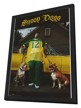 Snoop Dogg - 11 x 17 Movie Poster - Style A - in Deluxe Wood Frame