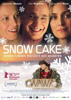 Snow Cake - 11 x 17 Movie Poster - German Style A