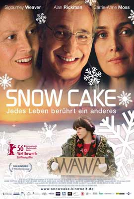Snow Cake - 27 x 40 Movie Poster - German Style A
