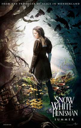 Snow White and the Huntsman - 11 x 17 Movie Poster - Style B